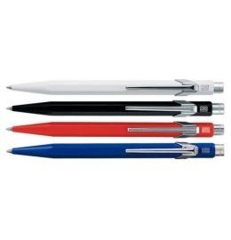 Kugelschreiber 849 Metall rot, blau, schwarz o. weiss