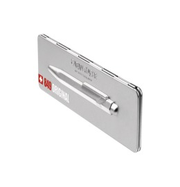 Kugelschreiber 849 Original aluminium, mit Metalletui