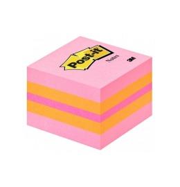 Würfel Mini Pink 51x51mm 3-farbig ass./400 Blatt