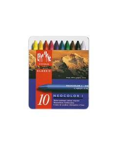 Wachsmalstift Neocolor 1 10 Farben Metallbox