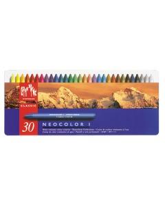 Wachsmalstift Neocolor 1 30 Farben Metallbox