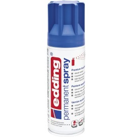 Acryllack Spray blau seidenmatt