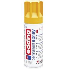 Acryllack Spray sonnengelb seidenmatt
