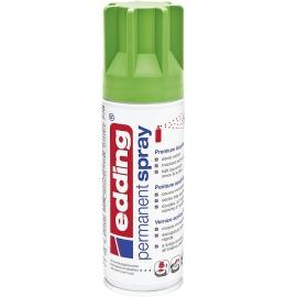 Acryllack Spray gelbgrün seidenmatt