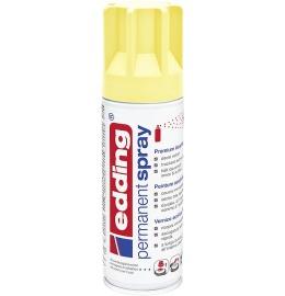 Acryllack Spray pastell gelb seidenmatt