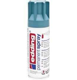 Acryllack Spray petrol seidenmatt