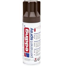Acryllack Spray schokobraun seidenmatt