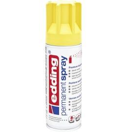 Acryllack Spray verkehrsgelb seidenmatt