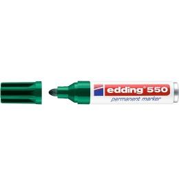 Permanent Marker 550 3-4mm grün
