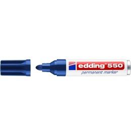 Permanent Marker 550 3-4mm blau