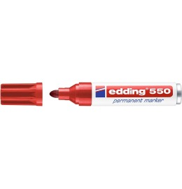 Permanent Marker 550 3-4mm rot