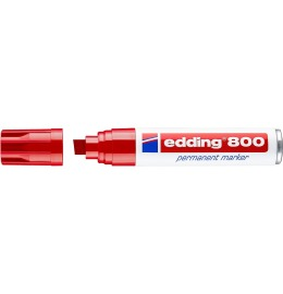 Permanent Marker 800 4-12mm rot