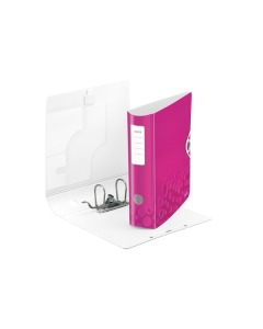 Ordner 8cm pink metallic A4