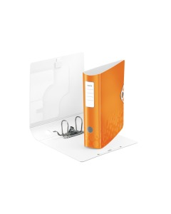 Ordner 8cm orange metallic A4