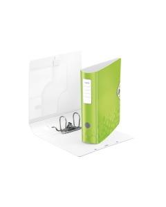 Ordner 8cm grün metallic A4