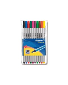 Fineliner 0,4mm 10 Farben, Etui