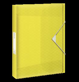 Ablagebox Colour'Ice A4 25mm gelb