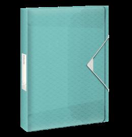 Ablagebox Colour'Ice A4 40mm blau