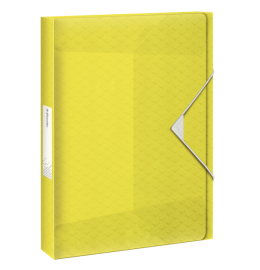 Ablagebox Colour'Ice A4 40mm gelb