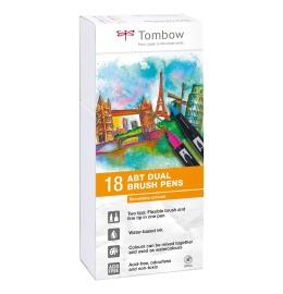 ABT Dual Brush Pen 18er Set Grundtöne I I
