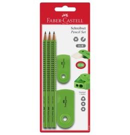 Bleistift-Set GRIP Sleeve hellgrün 3 Stück