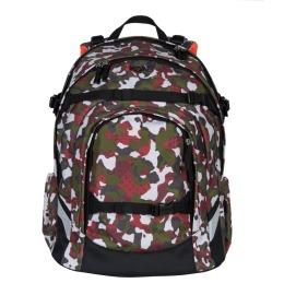 Rucksack Red Camouflage 35x46x25cm