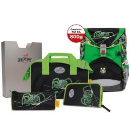 Rucksack Ergoflex Green Spider 5-teiliges Set