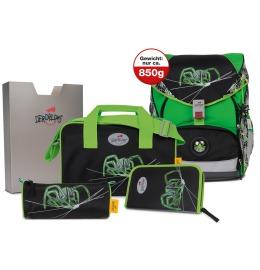 Ergoflex XL Green Spider 5-teiliges Set