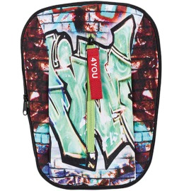 Change Frontflap 24, Graffiti 30x20x2cm green/black