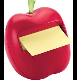 Dispenser Apfel rot Z-Notes grün/100 Blatt 76x76mm