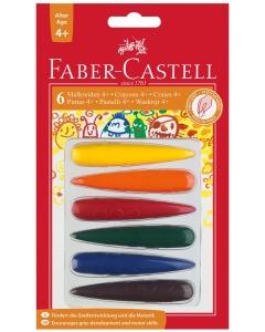 Kreiden Finger 6 Farben