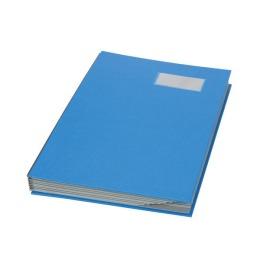 Unterschriftenmappe A4 blau, Register 1-10 240x340mm