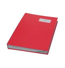 Unterschriftenmappe A4 rot, Register 1-10 240x340mm