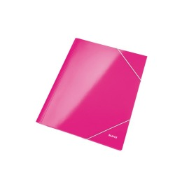Eckspannermappe WOW A4 pink metallic
