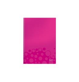 Notizbuch WOW A4 liniert, 90g pink