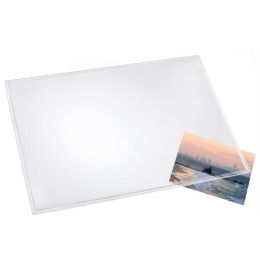 Schreibunterl. Durella 50x70cm transparent klar