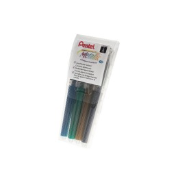 Roller Hybrid Gel Grip 1.0mm blau, grün, gold, silber