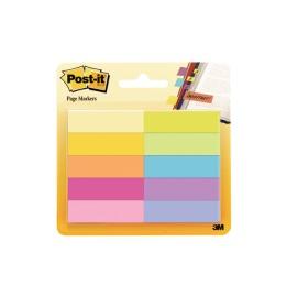 Papiermarker 44.4x12.7mm 10-farbig, 10x50 Blatt