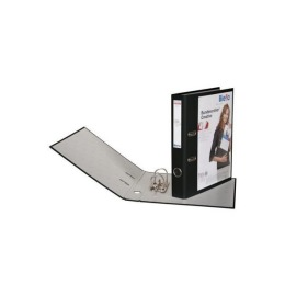 Bundesordner Creative 4cm schwarz, mit Sichttasche A4
