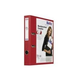 Bundesordner Creative 4cm rot, mit Sichttasche A4