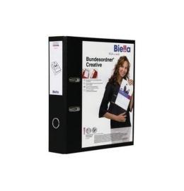 Bundesordner Creative 7cm schwarz, mit Sichttasche A4