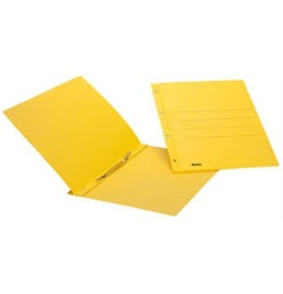Ösen-Schnellhefter A4 gelb, 240gm2