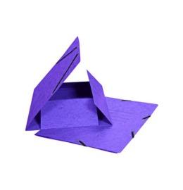 Gummibandmappe A4 violett, 355gm2 200 Bl.