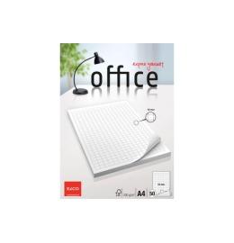 Block Office kariert 10mm A4 hochweiss, 100g 50 Blatt