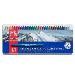 Wachspastelle Neocolor II 30-farbig assortiert