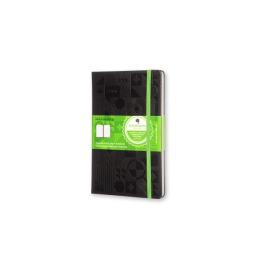 Evernote Smart Notizbuch A5 Hard Cover, liniert schwarz