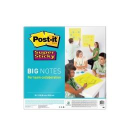 Super Sticky Big Notes grün, 30 Blatt 558x558mm