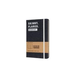 Notizbuch Denim L/A5 liniert,Hardcover