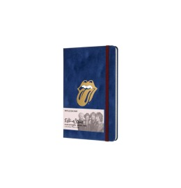 Notizbuch Rolling Stones L/A5 liniert,Hardcover,flock