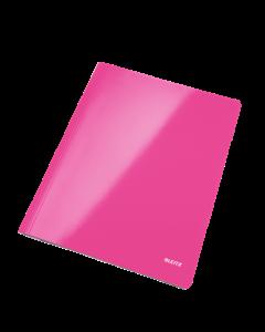 Schnellhefter WOW A4 pink metallic